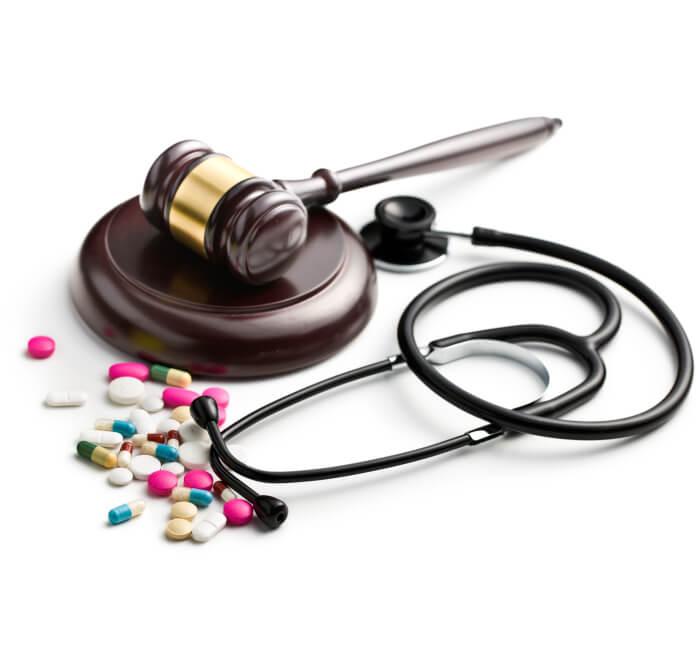 Большой опыт в медицинском праве